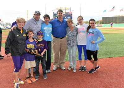 2016 LSU Baseball Prostate Awareness game (14)