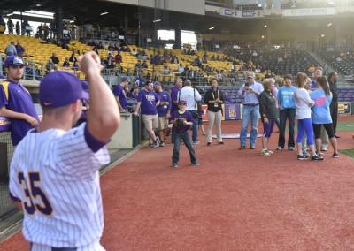 2016 LSU Baseball Prostate Awareness game (29)