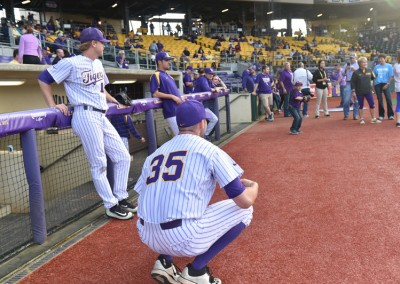 2016 LSU Baseball Prostate Awareness game (31)